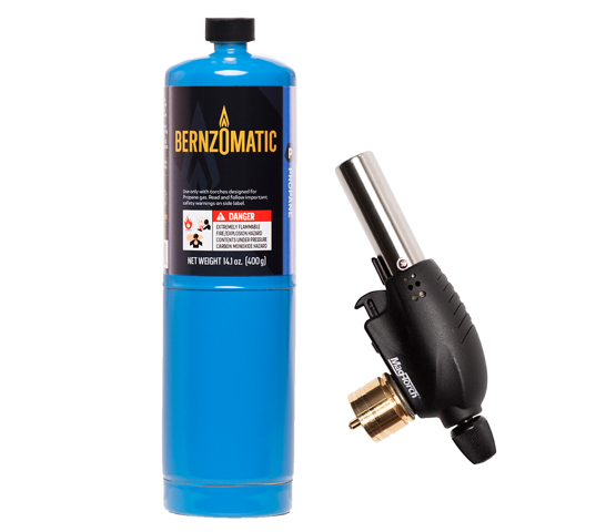 Mag-Torch MT531PK All-Purpose Torch and Bernzomatic Propane cylinder