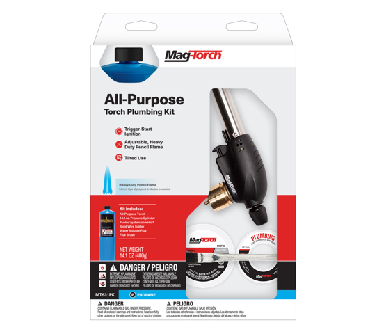 Mag-Torch MT531PK All-Purpose Torch Plumbing kit in packaging