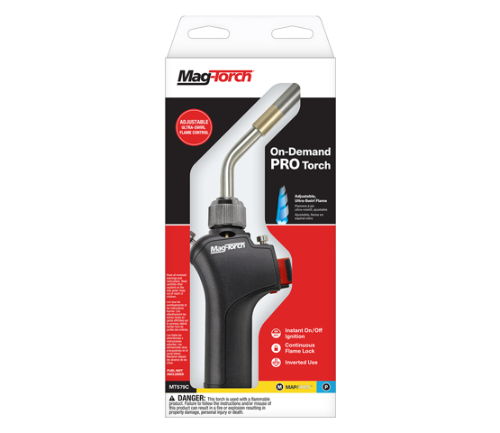 Mag-Torch MT579C On-Demand PRO torch in packaging