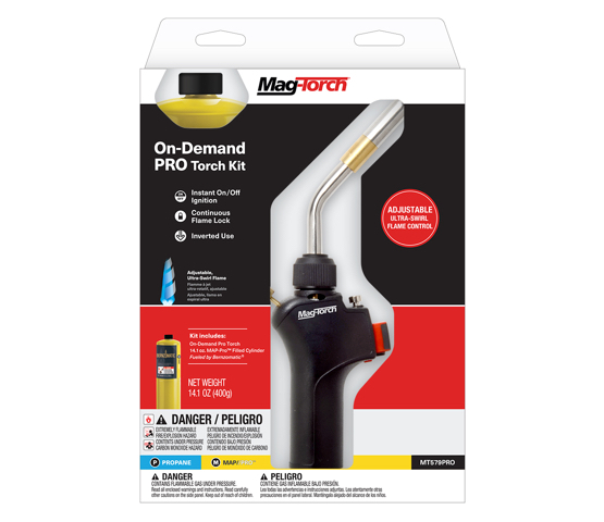 Mag-Torch MT579PRO On-Demand PRO Torch Kit in packaging